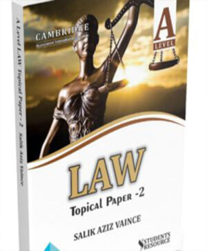 Law English Legal System Topical Paper 2