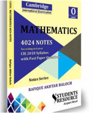O Level Mathematics Notes